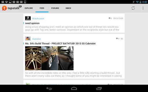 Tapatalk Pro - 100,000+ Forums  screenshots 20