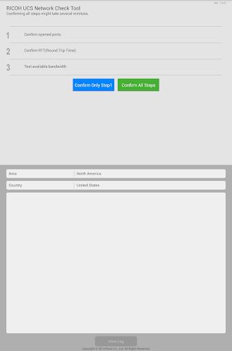RICOH UCS Network Check Tool 1.0.2 Windows u7528 4