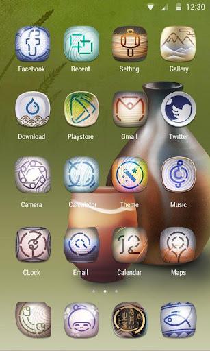 玩免費個人化APP|下載Ceramics Theme - ZERO launcher app不用錢|硬是要APP