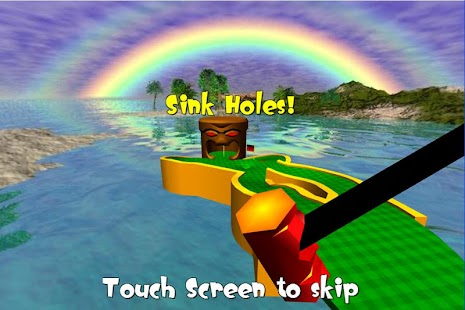Tiki Golf 3D FREE- screenshot thumbnail