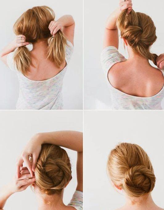 how to make butterfly hairstyle step by step