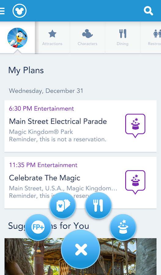 My Disney Experience - WDW - screenshot