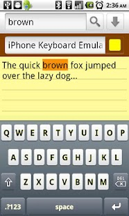 iPhone Keyboard Emulator FREE - screenshot thumbnail