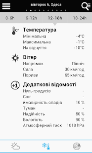 Weather for Ukraine- screenshot thumbnail