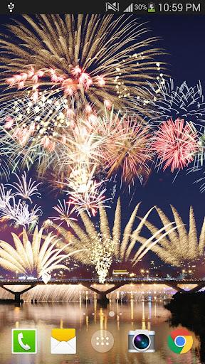 2019 Fireworks Live Wallpaper Free 1.0.5 screenshots 3
