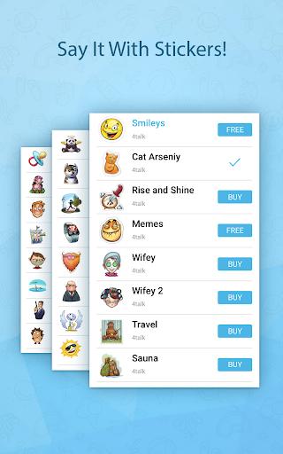 4talk Messenger 2.0.76 screenshots 8