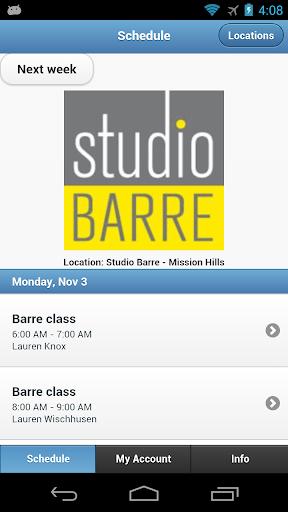 Studio Barre Mission Hills