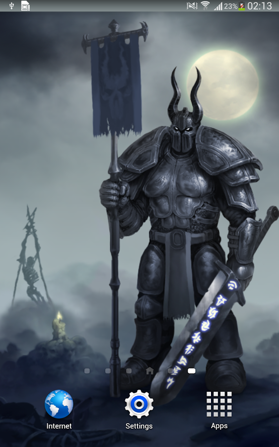 Knight Dark Fantasy Wallpaper- screenshot