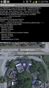 GPS Benchmark- screenshot thumbnail