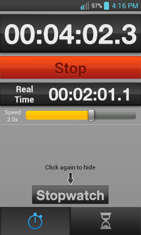 Fake Stopwatch & Timer - screenshot