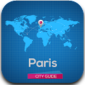 Paris Guide Map Weather Hotels icon