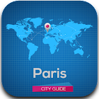 Guide Paris Hôtels Météo Carte icon