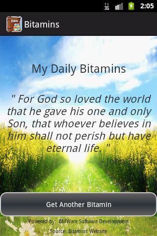 Bitamins Bible Vitamins