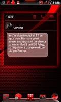Screenshot of GOWidget BloodRed ICS - Free