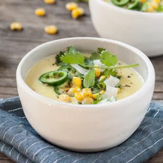 Sweet Corn & Coconut Milk Chowder Recipe