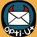 [B]누구야? 옵티U+ logo