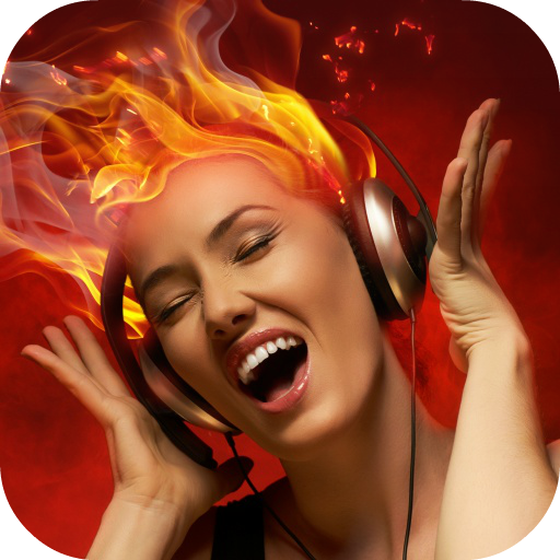 Girl With Headphones Wallpaper 個人化 App LOGO-硬是要APP