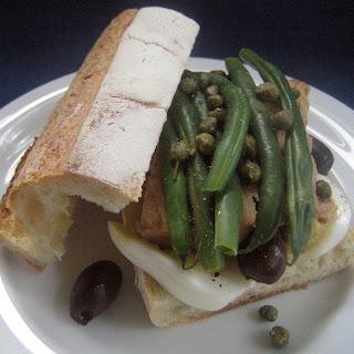 Tuna Nicoise Baguettes.