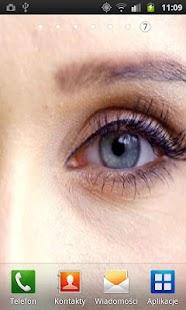 性感的眼睛生活壁紙
