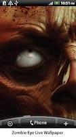 Screenshot of Zombie Eye Live Wallpaper
