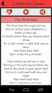 Christmas Carols Lyrics Packs screenshot