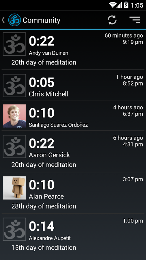 Meditation Assistant Free - screenshot