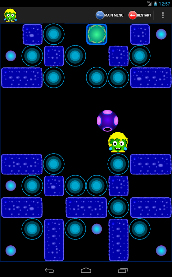 Little Green Baby Genius Full - screenshot