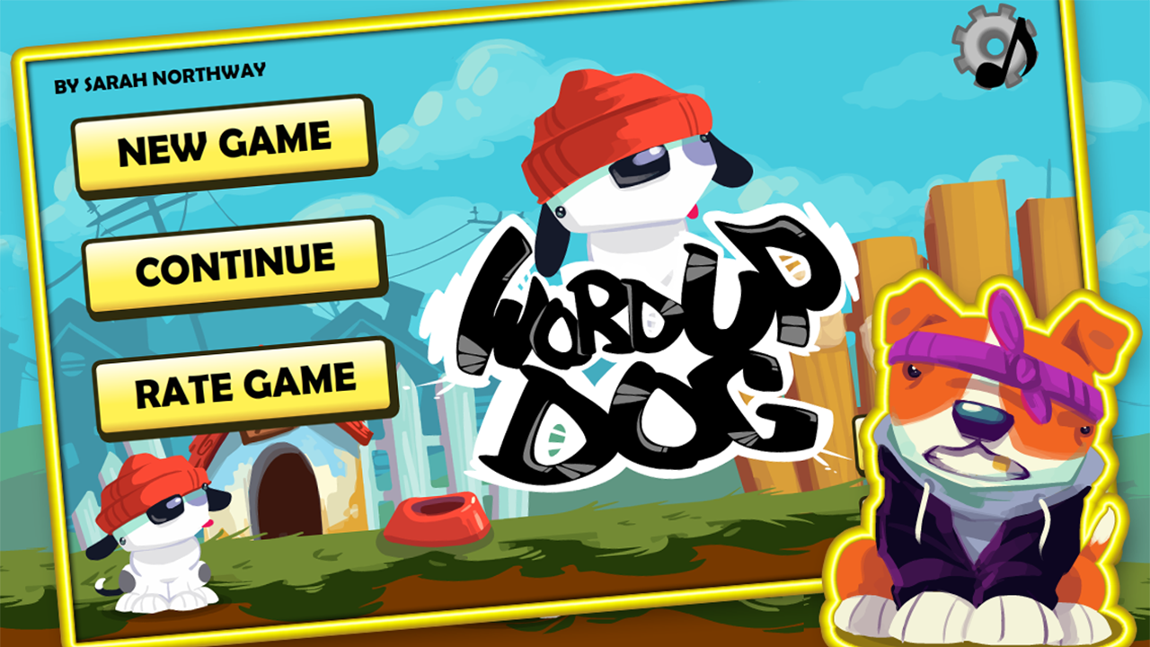 Word Up Dog- screenshot