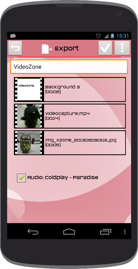 Video Zone - screenshot
