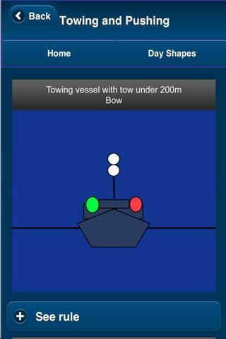 Navigation Lights & Shapes - screenshot