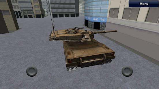 Tank City Driver Simulator