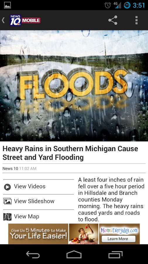 WILX News - screenshot