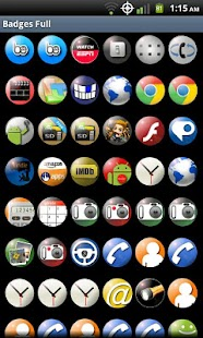 Badges Full Icons - screenshot thumbnail