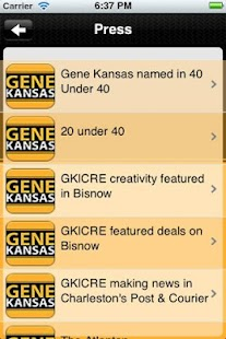 Gene Kansas Commercial Real Es - screenshot thumbnail