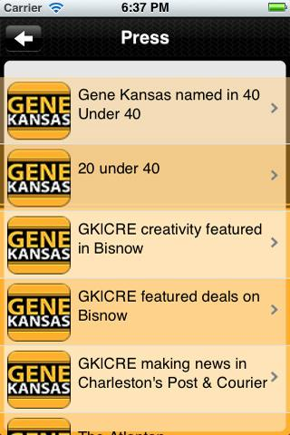 Gene Kansas Commercial Real Es- screenshot