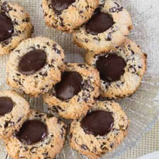 Gluten-Free Double Chocolate Coconut Macaroons.