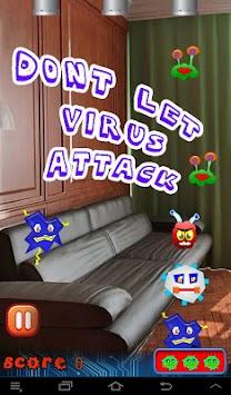 Transparent Virus Smasher apk screenshot