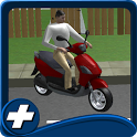 Free Bike Driving School 3D icon