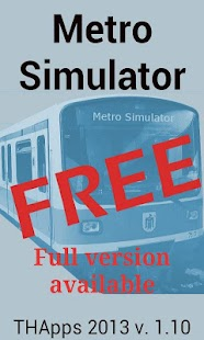 Metro Simulator FREE- screenshot thumbnail