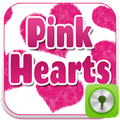 GO Locker Pink Hearts