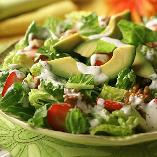 Strawberry Romaine Salad.