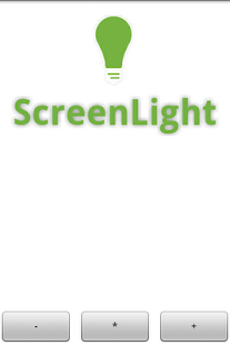 ScreenLight Flashlight/Strobe- screenshot thumbnail