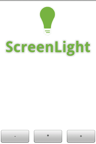 ScreenLight Flashlight/Strobe - screenshot