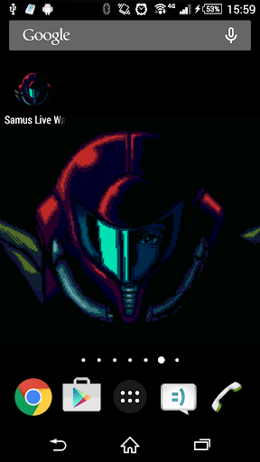 Samus Live Wallpaper