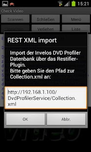 CheckVideo for DVD Profiler - screenshot thumbnail