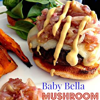 Baby Bella Mushroom Burgers