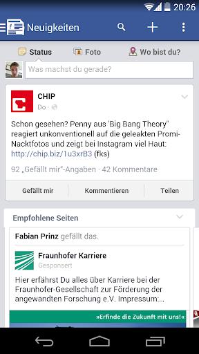 HeadsUp for Facebook R