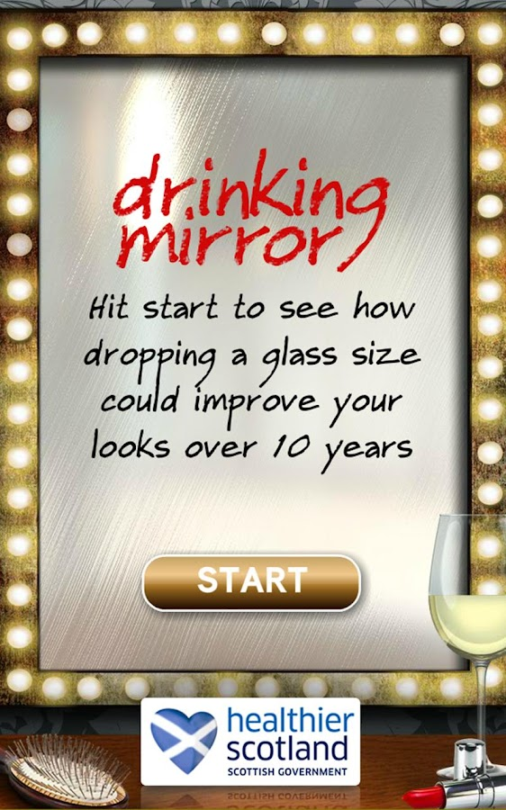 Drinking Mirror - screenshot