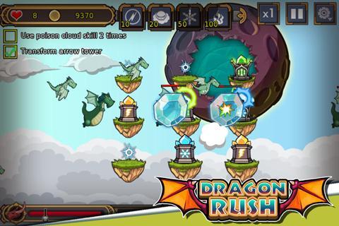 Dragon Rush 1.9 screenshots 2