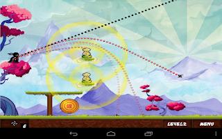 Screenshot of Ninja Throw